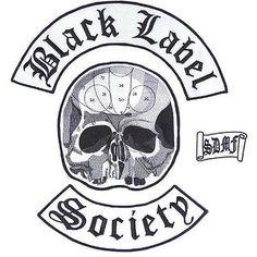 2d6ed4f0a9f1b Black Label Society BLS Biker Set Of 4 Big Embroidered Back Vest Patch  Patches Black Label