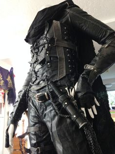 "coelasquid: ""lorca-the-great: "" After not winning anything at the cosplay pagent at GaymerX2 (bullshit) I undertook the task of putting my Garrett cosplay on my mannequin. So HERE have some epic..."