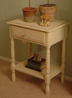Notes from A Cottage Industry: furniture re-do 101