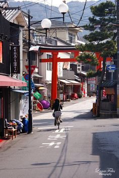 streets of Kyoto - Fushimi Inari 04 by *LunaFeles