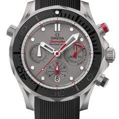 Omega celebra equipe de regata da Nova Zelândia com relógio Diver 300M