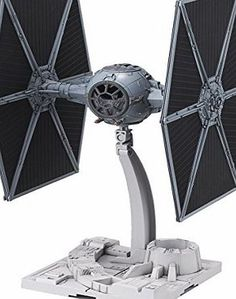 Bandai 1/72 Star Wars Tie Fighter Model Kit This snapfit kit consists of parts molded in grey, black, and clear plastic, and includes two pilot figurines, green effects parts, and display base. Also included are ma (Barcode EAN = 4543112948700) http://www.comparestoreprices.co.uk//bandai-1-72-star-wars-tie-fighter-model-kit.asp