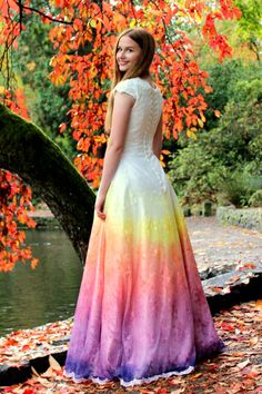 65d073e6869e 36 Best Rainbow Wedding Dress images | Bridal gowns, Alon livne ...