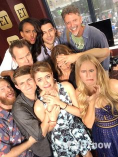 The Heroes cast at SDCC15