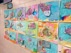 Art with Mrs. Nguyen: crayons