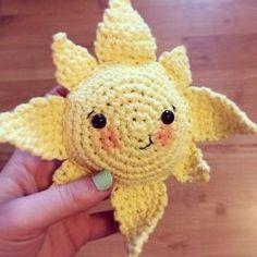 солнце крючком схема игрушки амигуруми