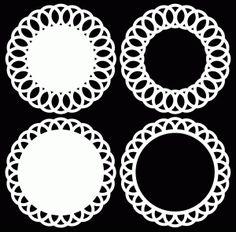 Doily Circles 1 by Bird