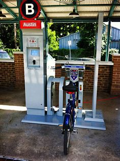 Austin bike share program! ~pinned via @Graduate School at UT Austin