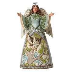 Jim Shore Heartwood Creek The Way Of Wisdom Angel with Owl Dress 4040794. #JimShore #Statue #Sculpture #Decor #Gift #gosstudio . We recommend Gift Shop: http://www.zazzle.com/vintagestylestudio