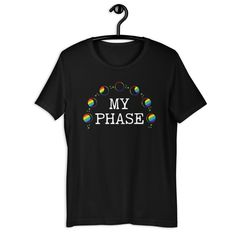 Rainbow Moon Phase Shirt - 4XL