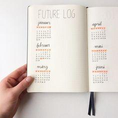 Ich hab genau das Richtige für mich gefunden: #bulletjournaling ist die richtige Mischung aus Planen und Gestalten und ich kann mich kreativ dabei austoben. Die ersten Seiten sind bereits fertig und ich präsentiere meine Jahresübersicht. Ein #bulletjournal ist Buch, das man komplett selbst gestaltet, man kann es als Terminkalender nutzen, Ideen festhalten, Listen schreiben uvm. Hat jemand von euch vielleicht auch eins? :) #seemannsgarnblog #futurelog #leuchtturm1917