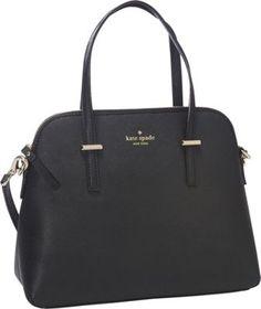 kate spade new york Cedar Street Maise Convertible Satchel Handbag Black - via eBags.com!