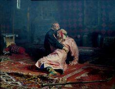 Museo Ruso: Iván el Terrible y su hijo