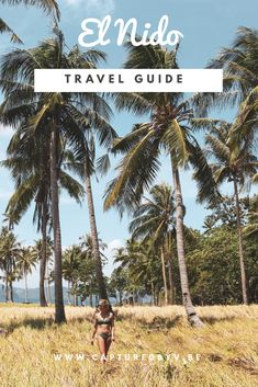Your ultimate travel guide to El Nido in the Philippines : tips on what boat tour to book, where to eat and what beach you can not miss! Philippines Palawan, Philippines Travel Guide, Vacations To Go, Vacation Trips, Palawan Tour, Island Tour, Beaches In The World, Most Beautiful Beaches, Boat Tours