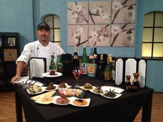 @Innovative Dining Group (IDG)'s Sushi Roku during a segment for @3TV Phoenix