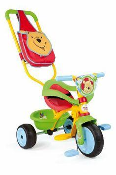 Smoby - 444188 - Vélo et Véhicule pour Enfant - Winnie l'ourson - Tricycle Be Move Confort de Smoby, http://www.amazon.fr/dp/B009QWXDIO/ref=cm_sw_r_pi_dp_IHmjtb1WYT0RY