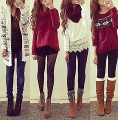 I'm in love with these outfits really  ! perksofbeingafashionaddict.tumblr.com