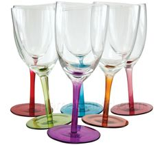 wobbling wine glasses! with a small ball on the bottom the wine glasses wobble and swirl.....but do not fall down!!