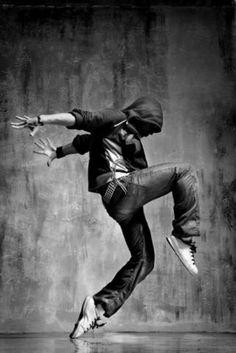 hip hop dancer by Eva