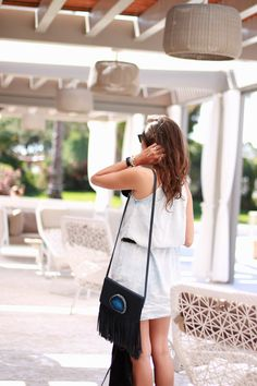 Summer in Denim   Proudly Salsa   Inma Soria, Coohuco Blog with our amazing dress