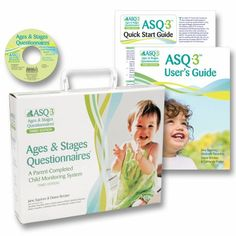 Everything you need to start screening children with ASQ-3™: 21 photocopiable print masters of the questionnaires and scoring sheets, a CD-ROM with printable PDF questionnaires, the ASQ-3™ User's Guide, and a FREE ASQ-3™ Quick Start Guide.