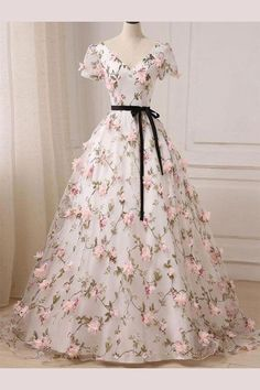 Lace Prom Dresses #LacePromDresses, Long Prom Dresses #LongPromDresses, Prom Dresses For Cheap #PromDressesForCheap, Prom Dresses V-neck #PromDressesVneck, V Neck Prom Dresses #VNeckPromDresses, Prom Dresses 2019 #PromDresses2019
