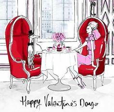 Valentine by Megan Hess