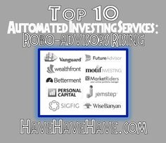 Top 10 Automated Investing Services