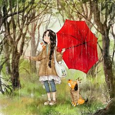 ...Sometimes I think The rain is only for me ♥....