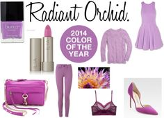 Color of the Year: Radiant Orchid via Glamour Playground.