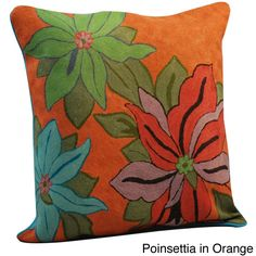Crewel Work Pillows