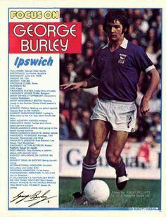 George Burley of Ipswich Town in 1975.