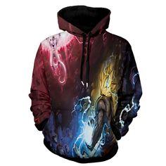 6XL New Design Dragon Ball Z Hoodies 3D Hoody Pullovers Sweatshirt Anime Funny Cartoon Pullover Hipster Jumper Cool Sportwear