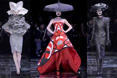 "Tim Gunn and Heidi Klum--Lifetime Network Season 13 ""Project Runway"" Episode 8 ""Rainway"" This past. Alexander Mcqueen, Mcqueen 3, Fashion Art, Runway Fashion, High Fashion, Asian Fashion, Timeless Fashion, Fashion Women, Project Runway"