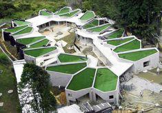 Cellular Green-Roofed Pajariro Jardin Infantil La Aurora Kindergarten Sprouts in Colombia   Inhabitat - Sustainable Design Innovation, Eco Architecture, Green Building