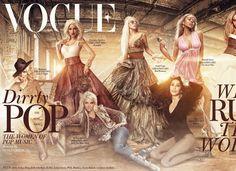 Homenagem: Vogue ganha capa especial com cantoras pop | Chic - Gloria Kalil: Moda, Beleza, Cultura e Comportamento