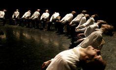 """Minus One"" Bathsheva Dance Company. Choreography by Ohad Naharin"
