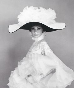 Audrey Hepburn 1963 by Cecil Beaton for My Fair Lady