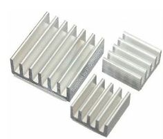 3 x silver #aluminium #heatsink cooling #block + adhesive pads for raspberry pi,  View more on the LINK: http://www.zeppy.io/product/gb/2/262310872361/