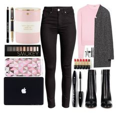 """""""And you love the game"""" by itaylorswift13 ❤ liked on Polyvore featuring Miu Miu, Zara, Gianvito Rossi, Bobbi Brown Cosmetics, L'Oréal Paris, Lancôme, Kate Spade, Forever 21, Parker and Givenchy"""