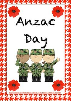 April every year. The day Australian's stop to think about the sacrifice that many hundreds of men and women made for our country to give us all a free and better life. This pack contains ideas for Anzac Day for Early Years Classrooms. Anzac Day Australia, Special Day, Special Events, Early Years Classroom, Earth And Space Science, Australian Curriculum, Remembrance Day, Thinking Day, Teaching History