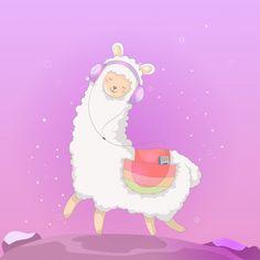 Photo July 18 2019 at Lamas maniacs Cartoon Llama, Funny Llama, Cute Llama, Cute Cartoon, Baby Llama, Alpacas, Llamas Animal, Llama Drawing, Llama Arts