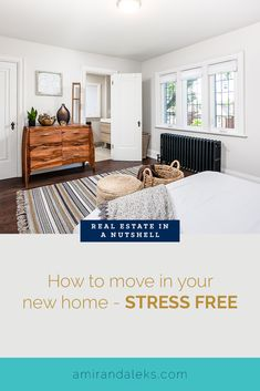 Everybody hates moving, especially if you've been living at your current place for a long time! Get ready to learn about moving in and how to best prepare! Home Buying Tips, Home Buying Process, Buying A New Home, Moving Furniture, Home Furniture, Have A Good Sleep, Big Move, Declutter Your Home, First Time Home Buyers