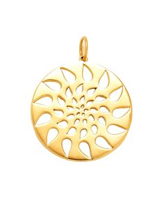 Phillips Frankel Large Yellow Gold Energy Logo Pendant at London Jewelers! Coop Logo, Logo Inspiration, Creations, Product Launch, Jewels, London, Pendant, House, Club