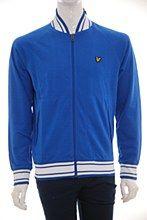 Lyle and Scott Mens Sweat Jacket Royal b_XXL Zip Thru Regular Fit - Various Size Options
