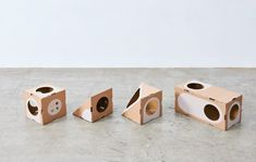 A Cat Thing – L'architecture féline modulaire by Origami