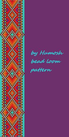 ethnic bead loom pattern