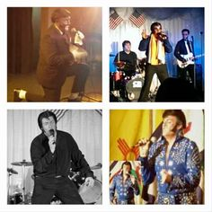 Marc George as Elvis. Book an Elvis tribute entertainer in South Wales for events. Call Spot On Entertainment Ltd (UK) 0161 374 5398 for booking details.