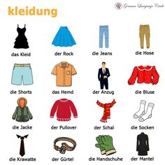 German Language Learning, Learn German, Pullover, Mantel, Germany, Shorts, Comics, Tips, Scarves