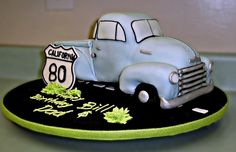 Dads 80th Birthday Cake by camnjeanacess, via Flickr